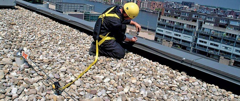 Commercial fall protection