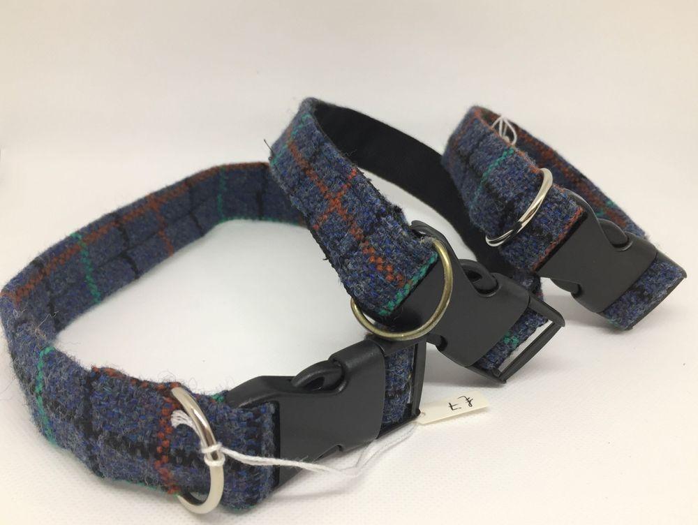 Handmade woven wool dog collars