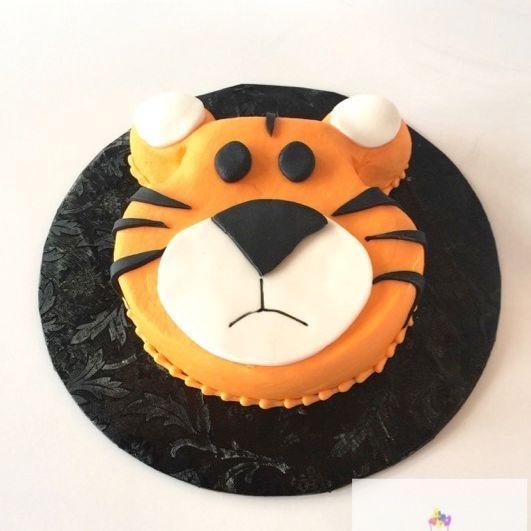 Tiger Smash Cake