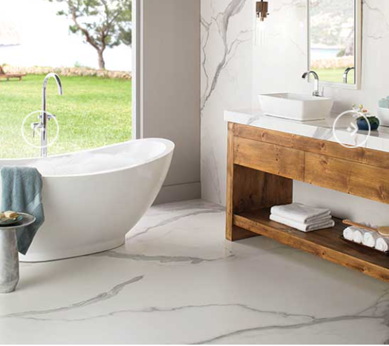 Porcelain, tile, Indianapolis, Indiana, home