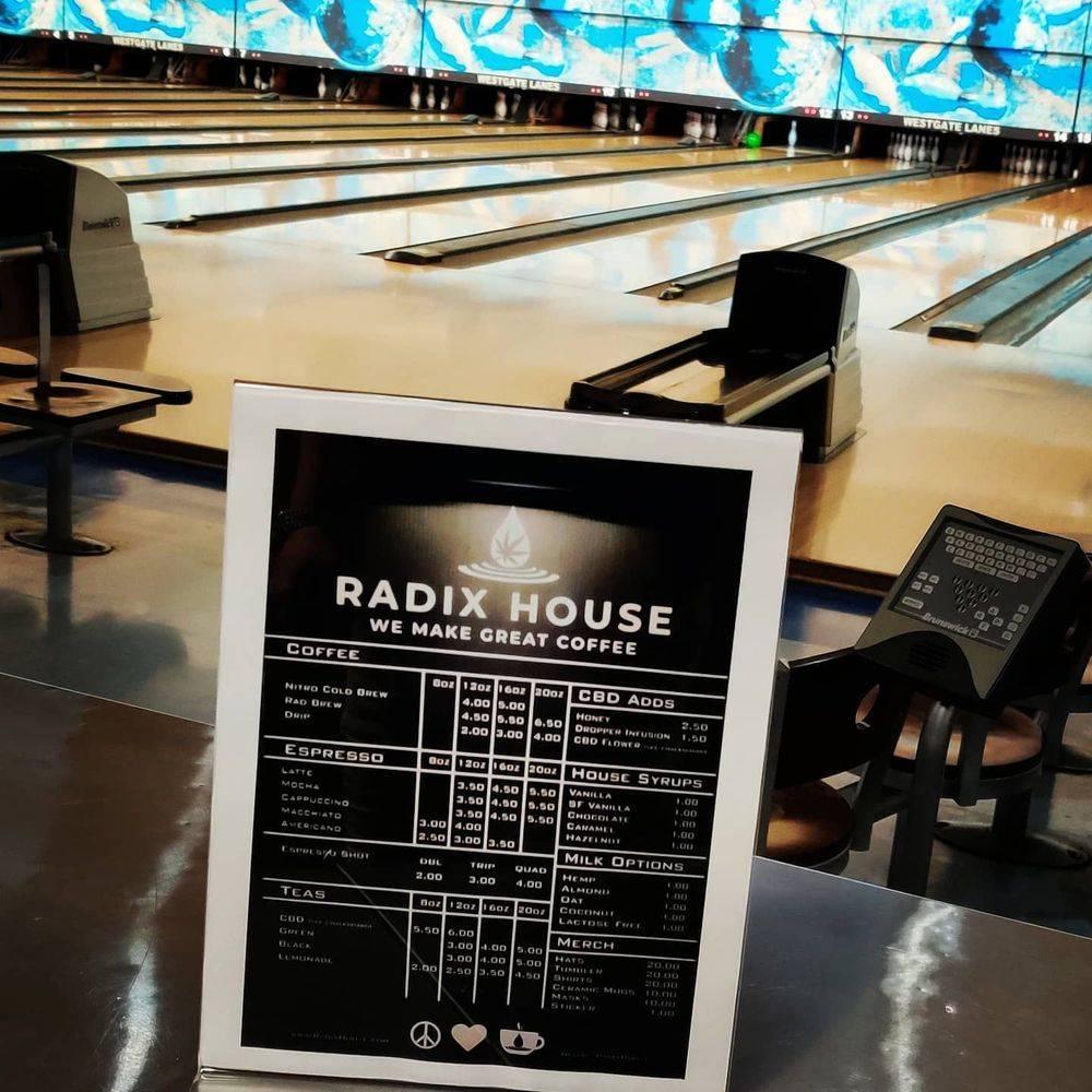 Radix House Coffee Shop CBD HEMP COFFEE AUSTIN TEXAS
