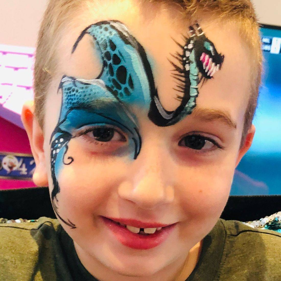 birthday parties for kids, butterflies, face painting, Chicago face painting, body art, corporate face painting events, festivals