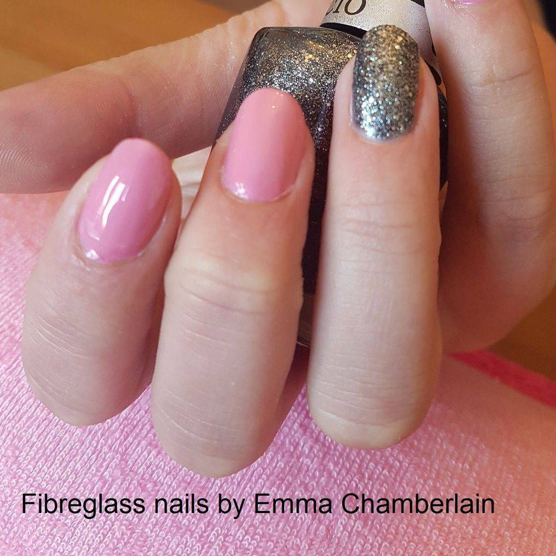 Fibreglass nails after the Complete Nail Technician course
