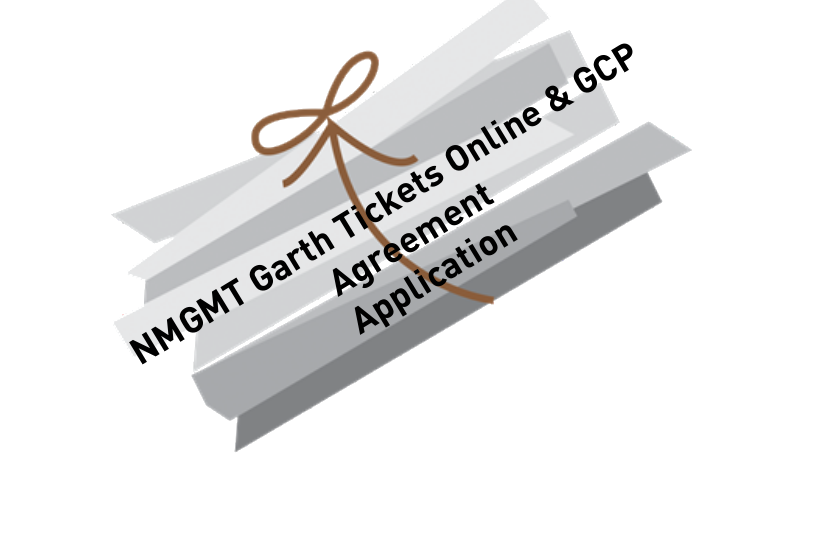 NMGMT Garth Tickets Online and GCP Agreement Application