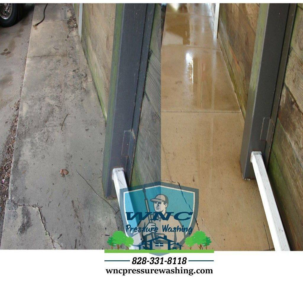 concrete pressure washing concrete power washing