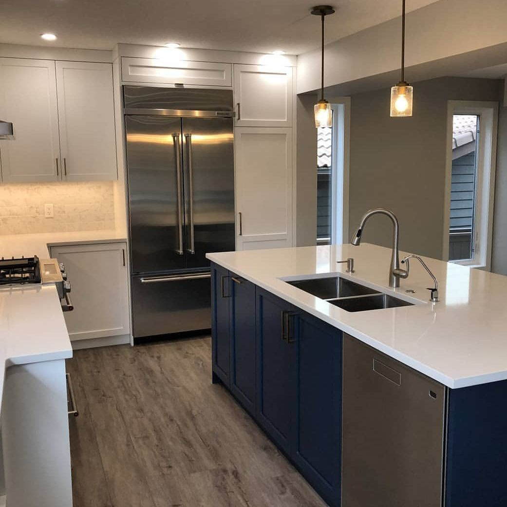 construction development renovations calgary bathroom kitchen cabinets demolition basement mre developments