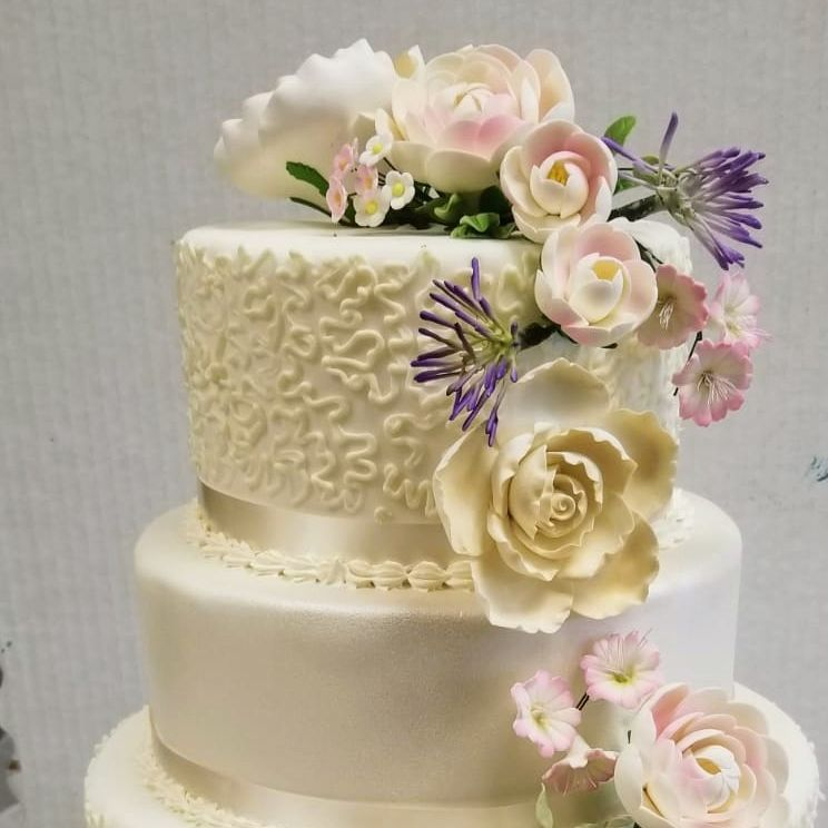 Wedding cake # 7