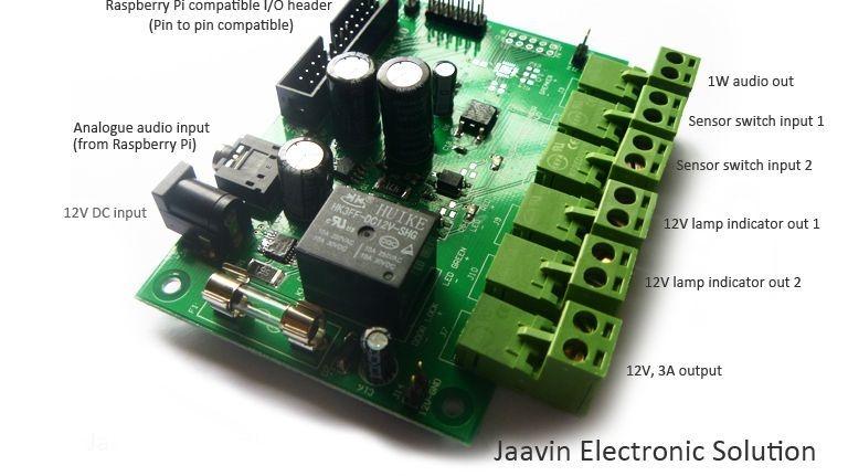 Raspberry Pi Interface PCB