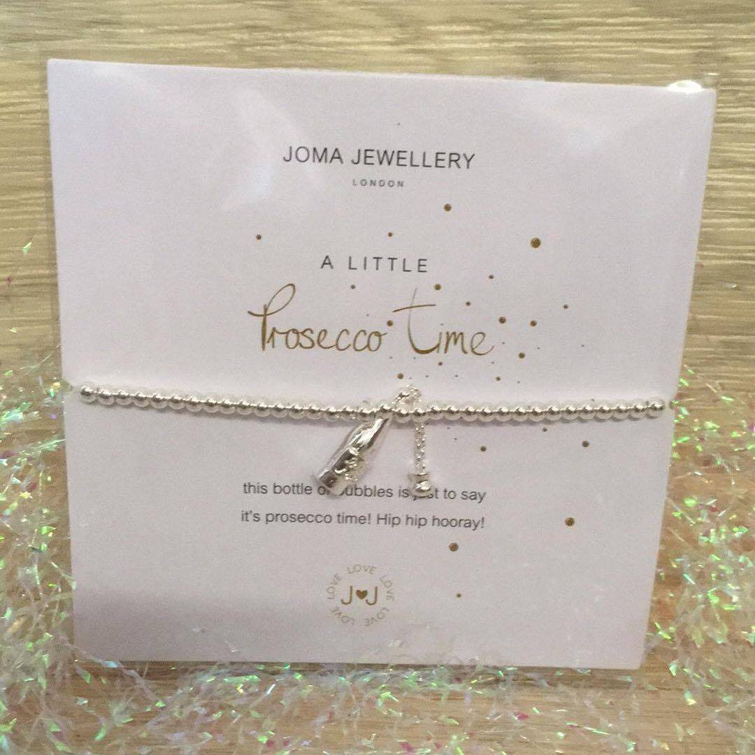 Prosecco Gifts Joma Jewellery Bracelets Charm Gift