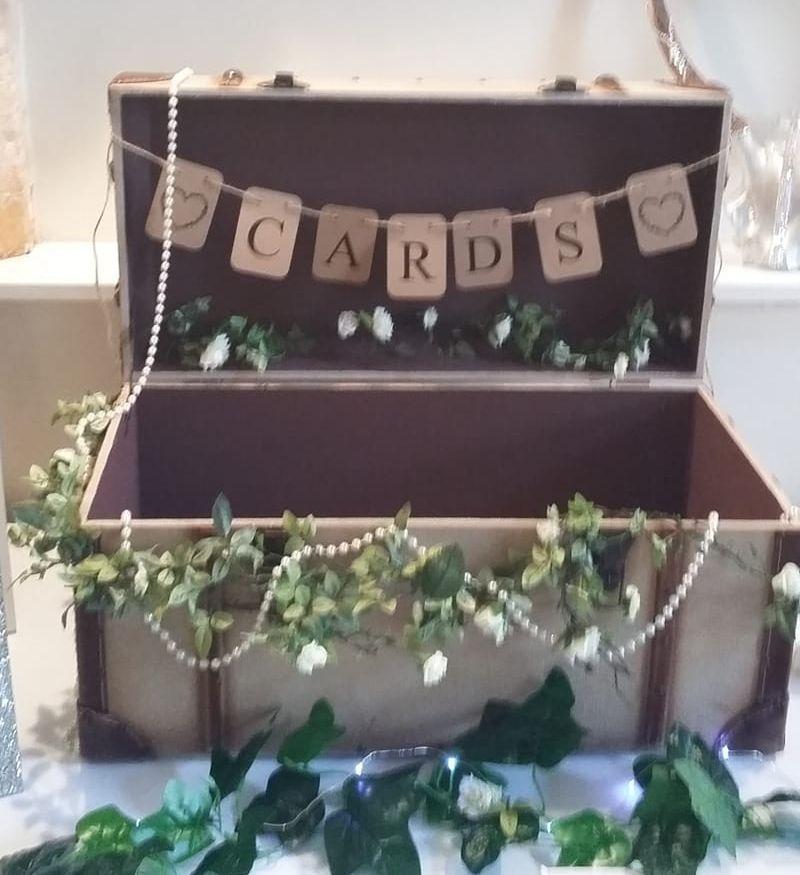 Steamer Trunk, Wedding Post Box Hire, Surrey, Hampshire