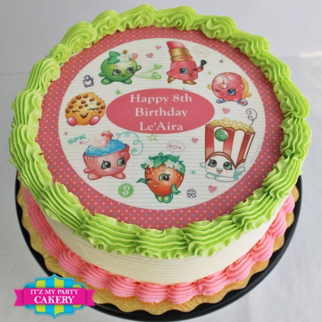 Edible Image Buttercream Cake, Photo Cake