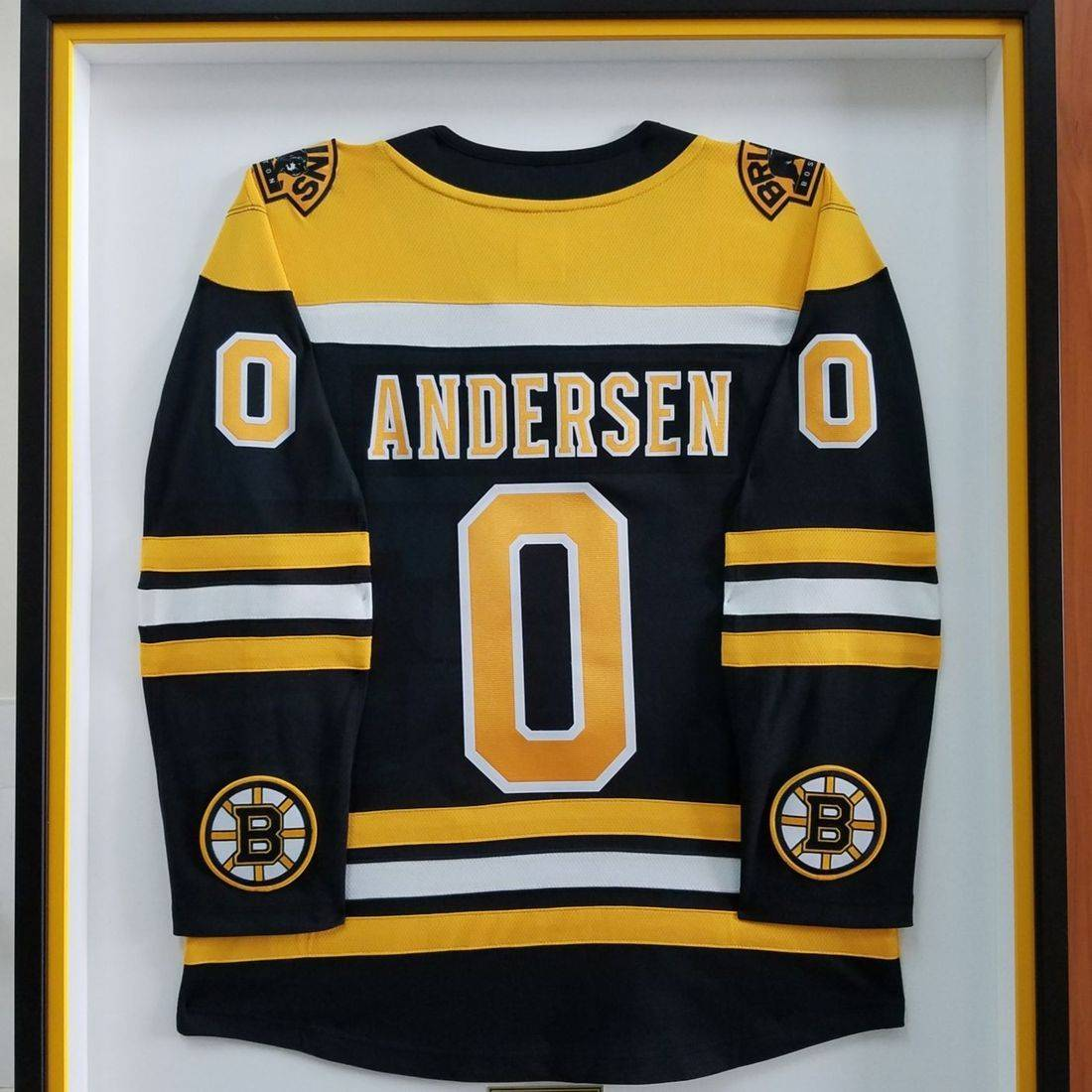 Hockey Jersey framed Sunset Framer