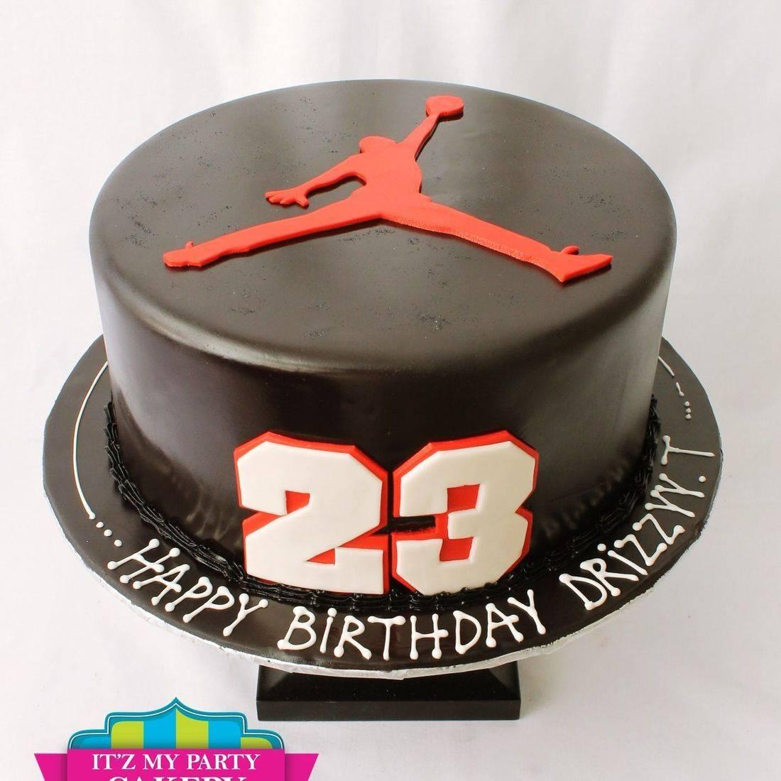Custom Nike Jordan Basketball Cakes Milwaukee
