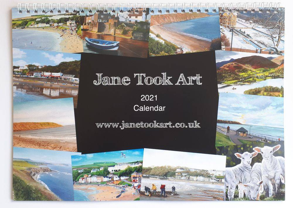 2021 Calendar by Jane Took