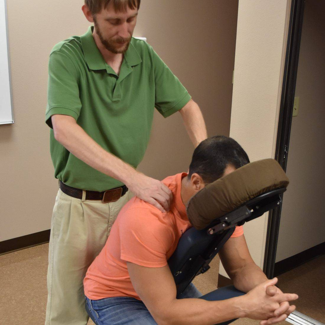 Neuromuscular Therapy, Chair Massage