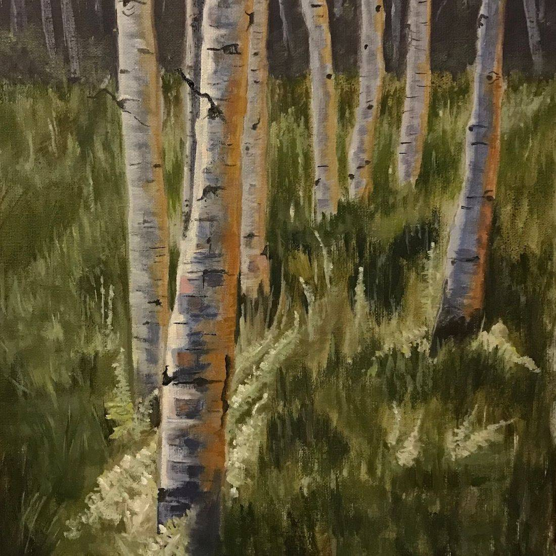 Aspen, Colorado, Kebler Pass, Western Art, Leaf Peeping