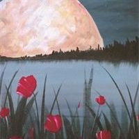 Poppies in the Moonlight