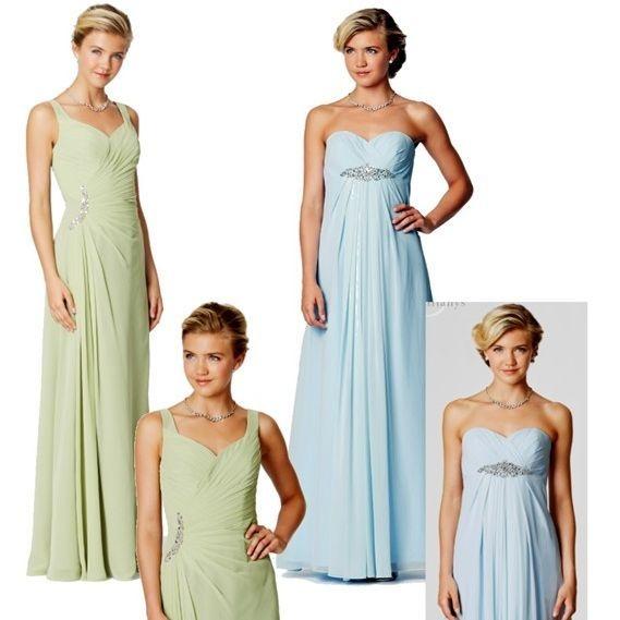 straps,bridesmaids,eveningdress,V neck