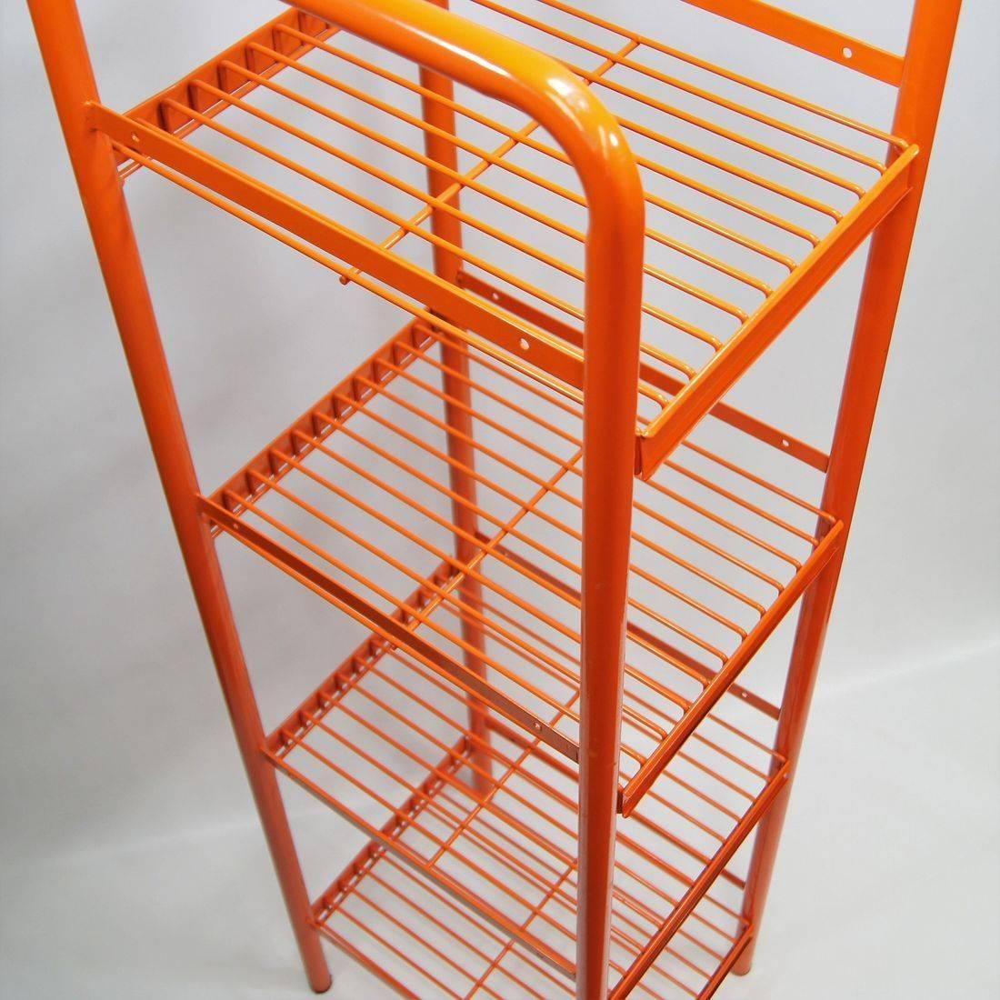 Tube & Wire Floor Display Rack