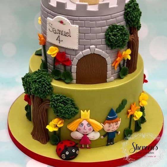 Birthday Cake Ben & Holly