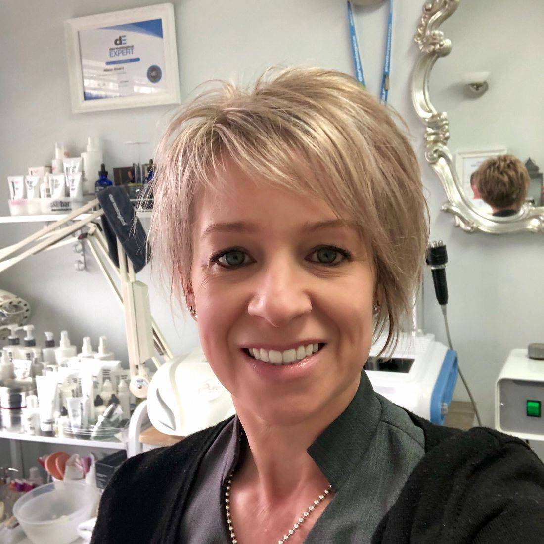 Allison Board Creativity Beauty Solutions Reading Skin Beauty Salon