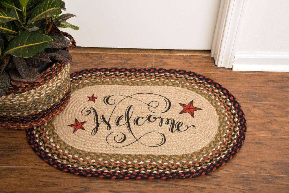 Beautiful rugs for your home. Made from 100% organic, natural jute fiber.