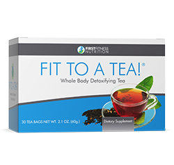 Fit To A Tea is a whole body detoxifying tea