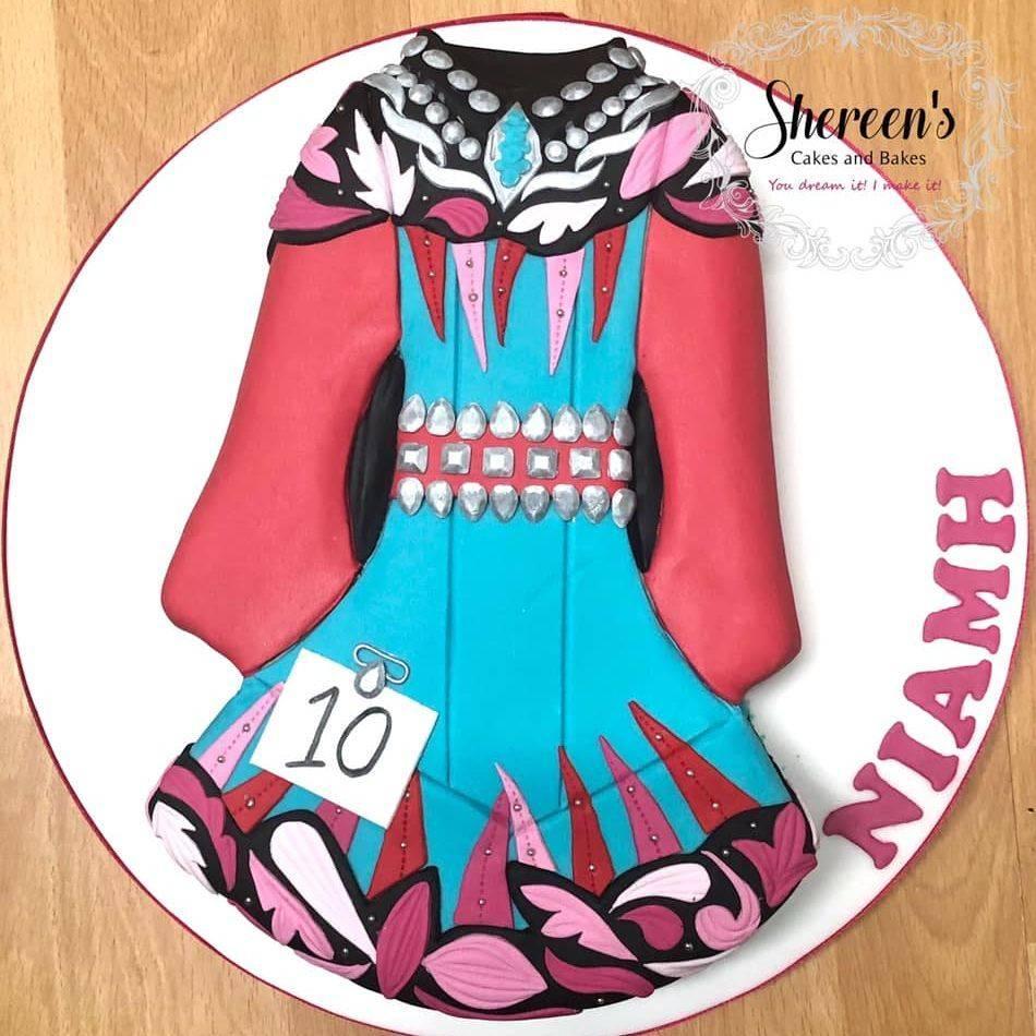 birthday cake irish dance dress