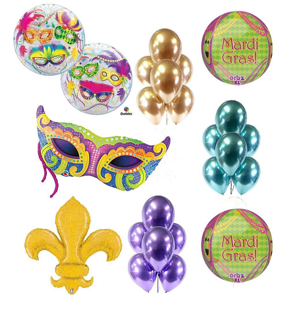 Mardi Gras Party Pack