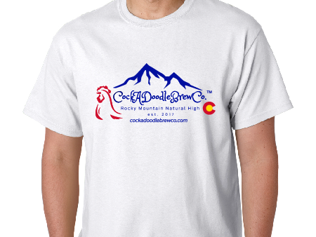 T-Shirt, Mountains, Cotton