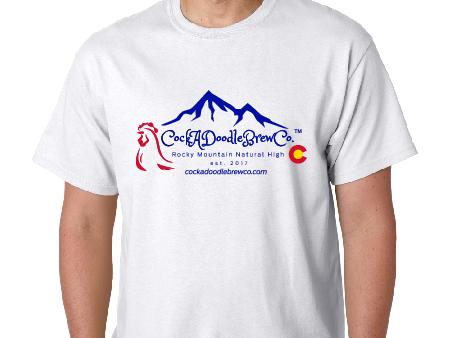 T-Shirt, Mountains, Cotton