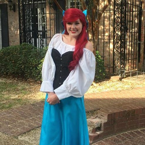 Ariel The Little Mermaid Kiss the Girl Dress