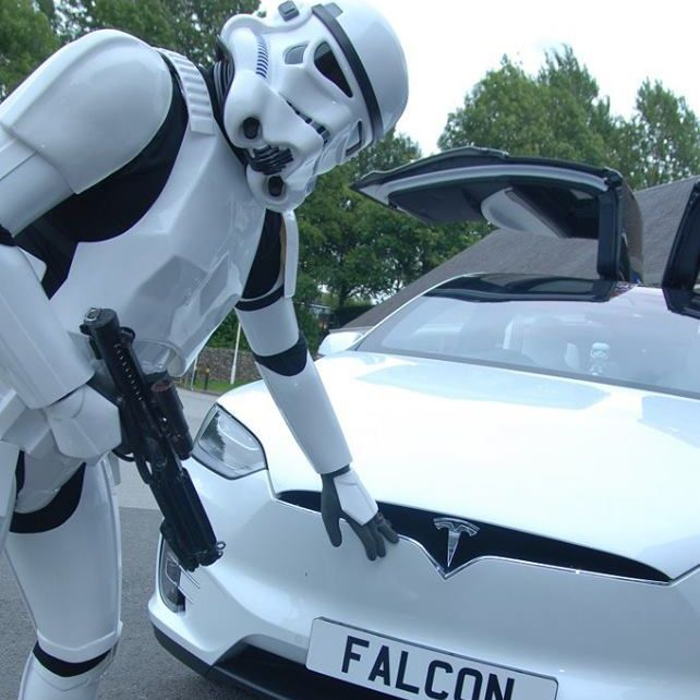 Tesla Star Wars Wedding