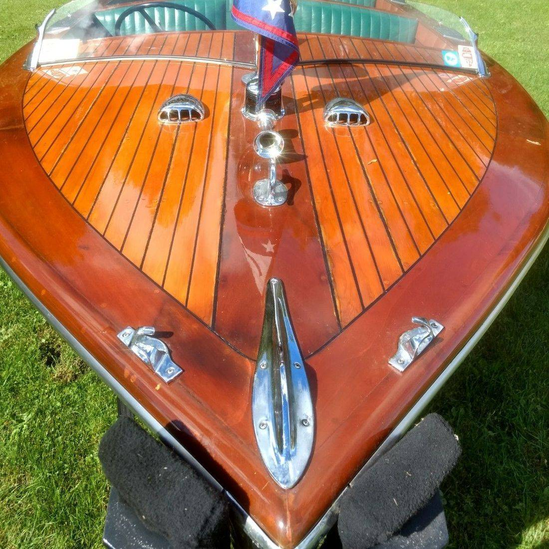 Rare wood boat for sale Bergersen Boat Co
