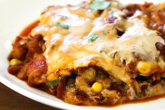 Our enchilada pie is delcious and affordable