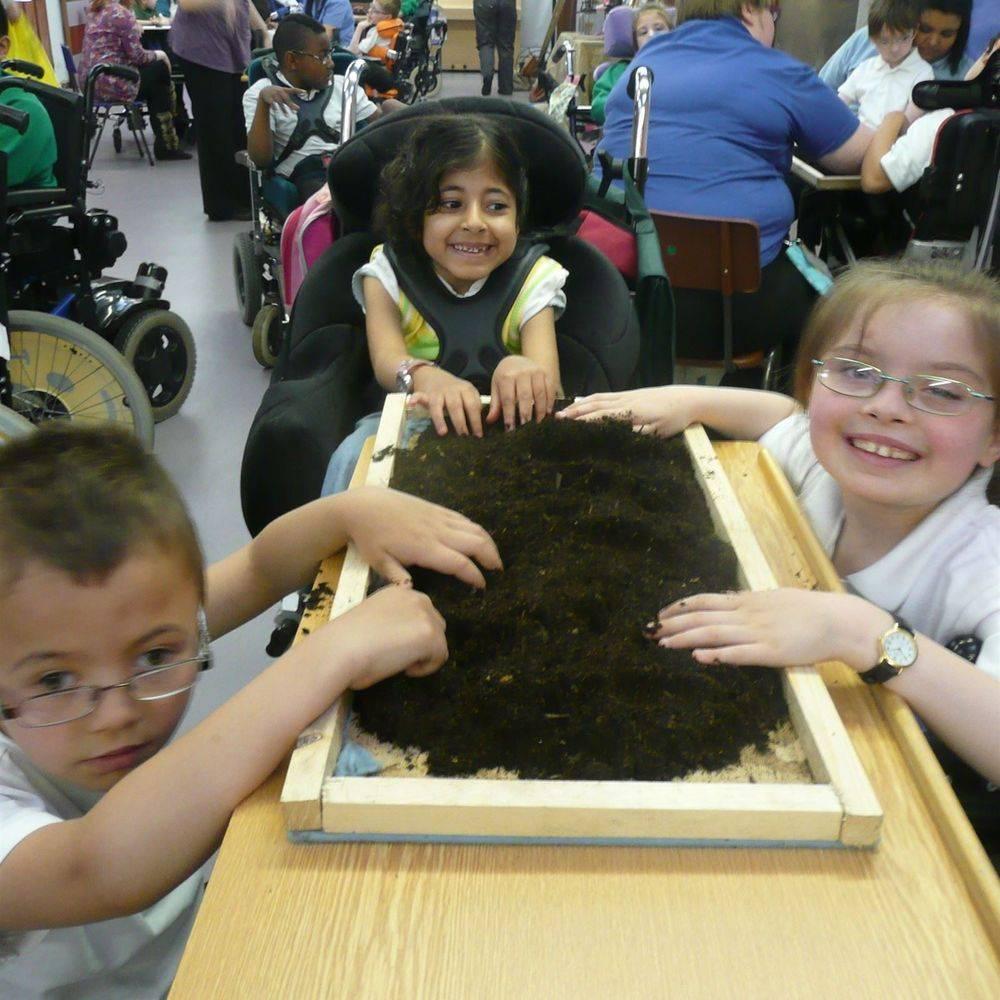 School History Workshop with SEN children