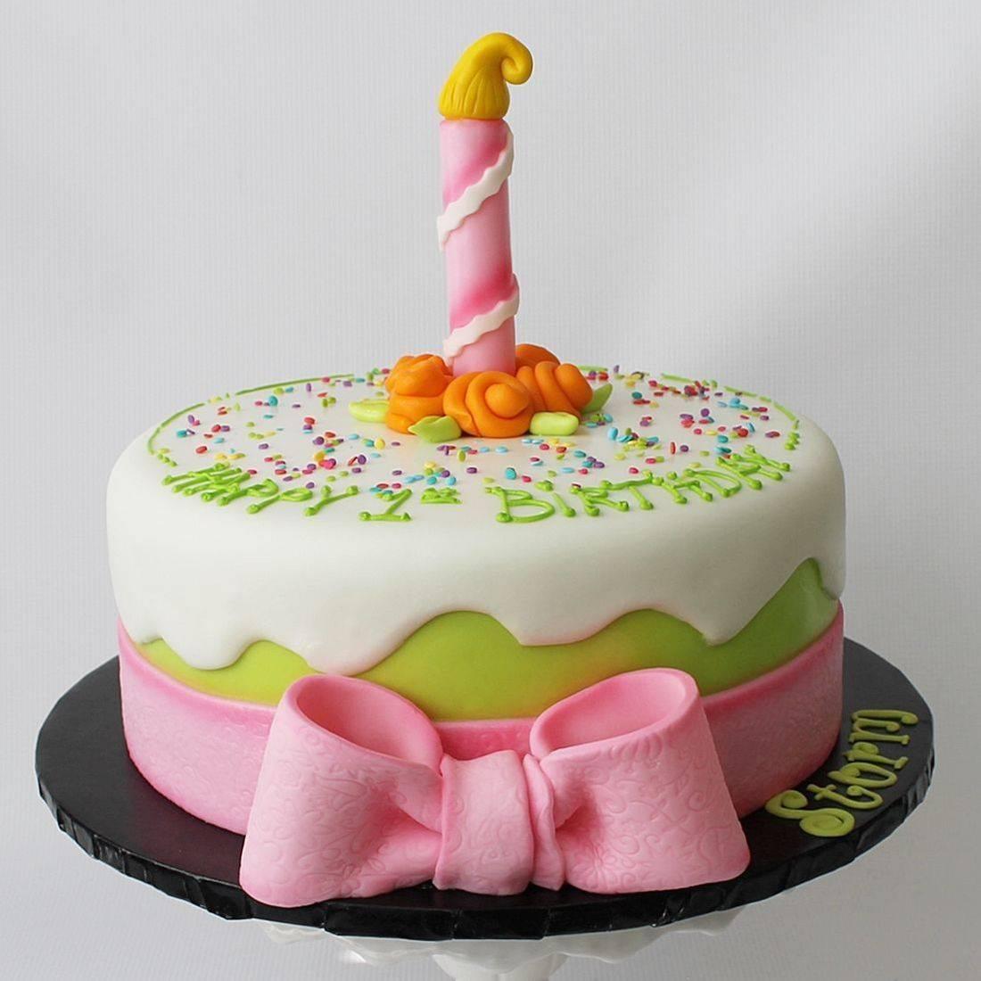 Custom  Birthday Candle  Cakes  Milwaukee