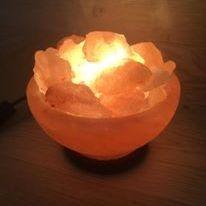 Himalayan Salt Bowls Fire Bowls Salt Lamps  Pink Crystal