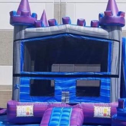 Purple Castle  Dry slide Combo