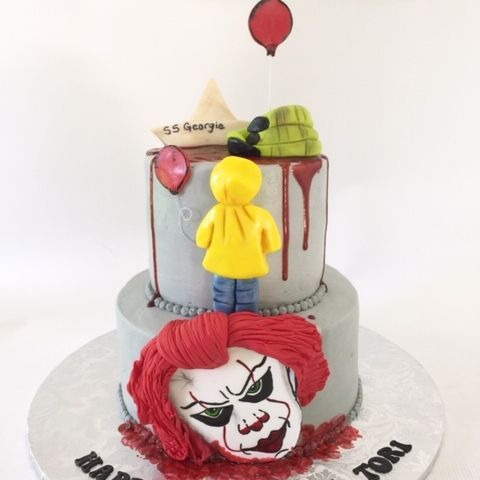 Pennywise It Birthday Cake