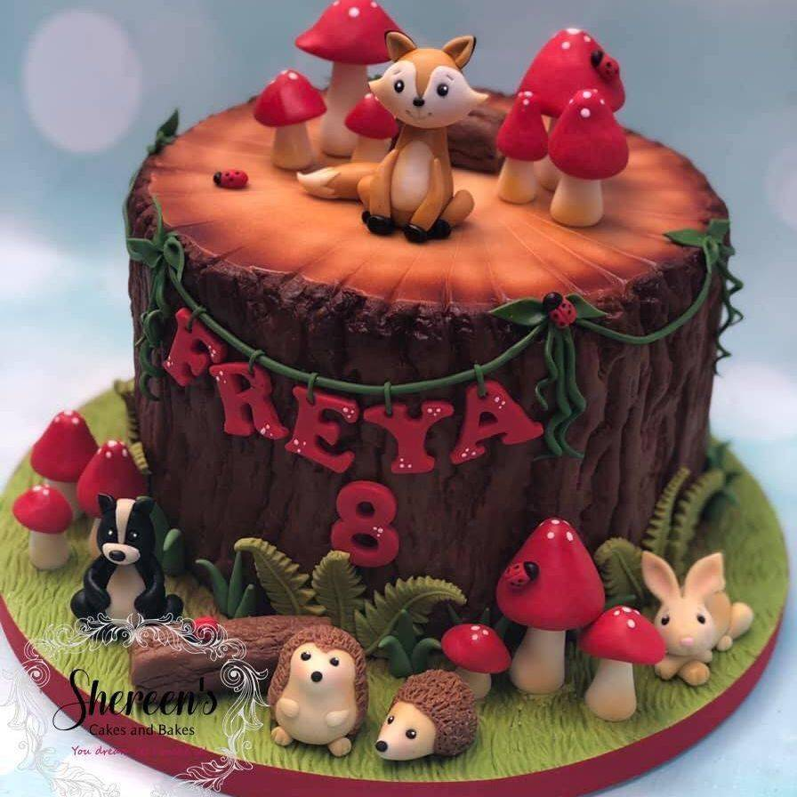 Birthday Cake Woodland