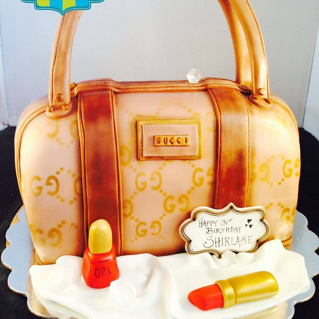 Purse Cake Carved Dimensional Cake Milwaukee