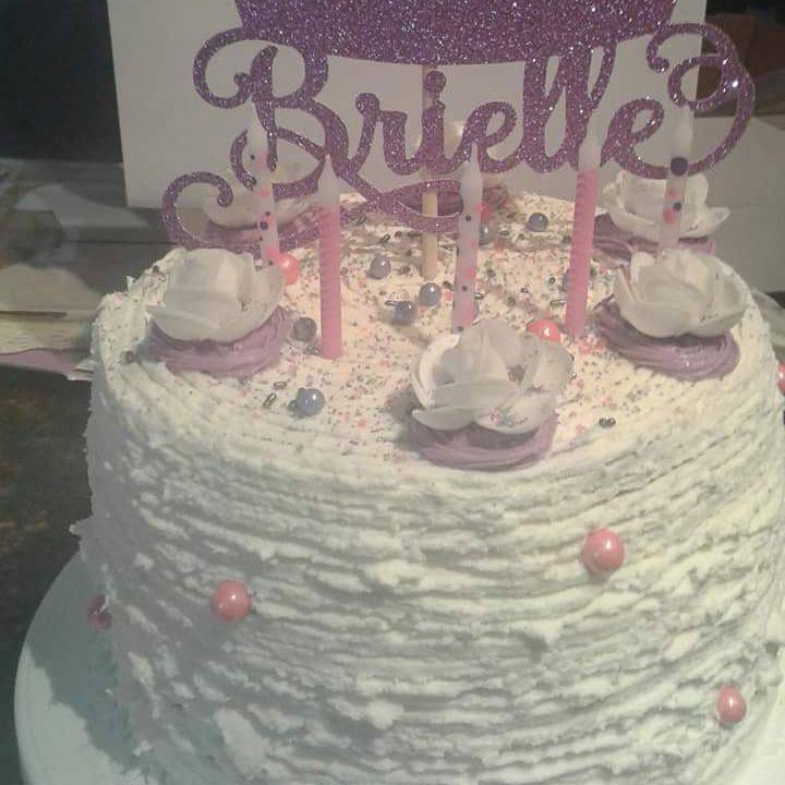 Brielle's 5th birthday cake