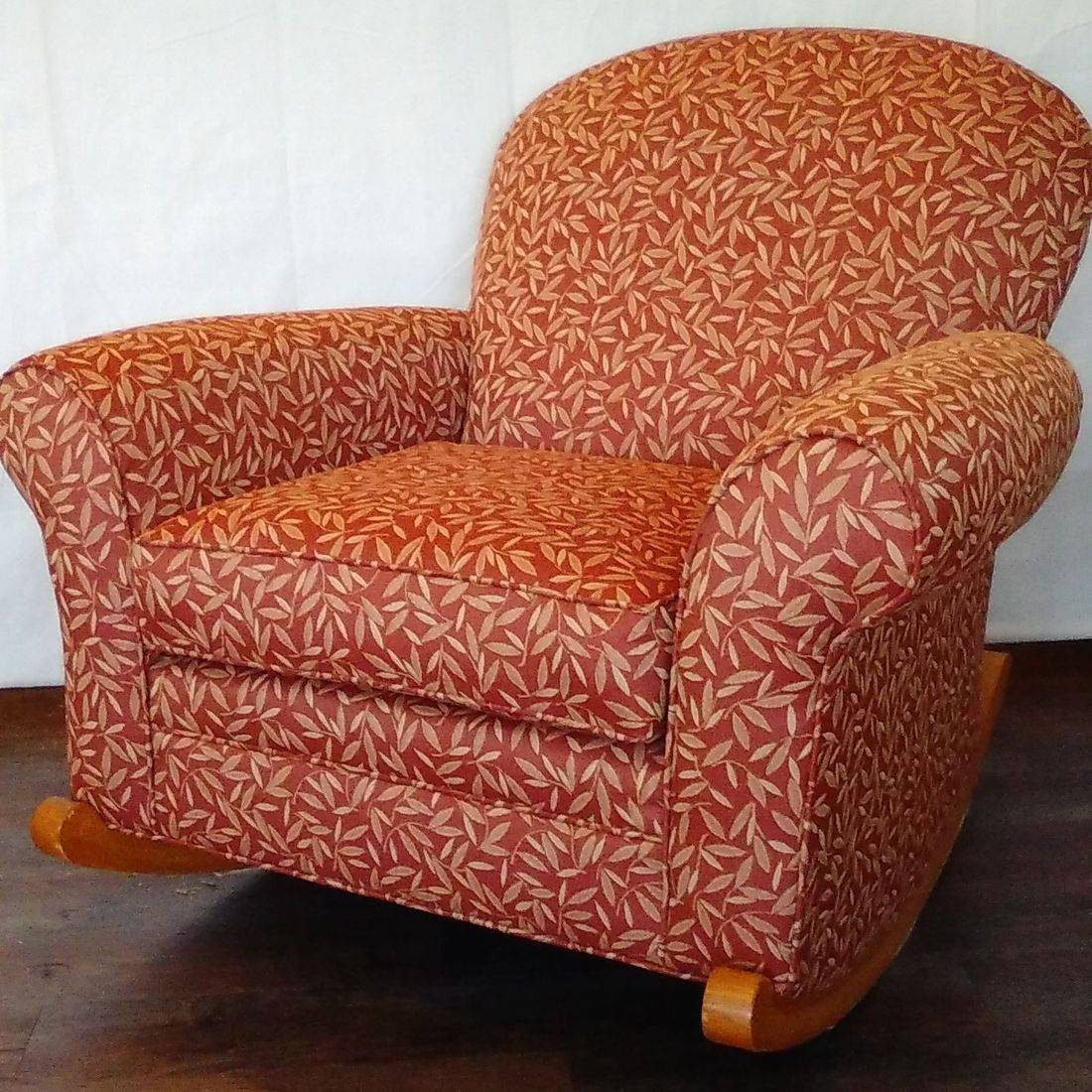 upholstered rocker