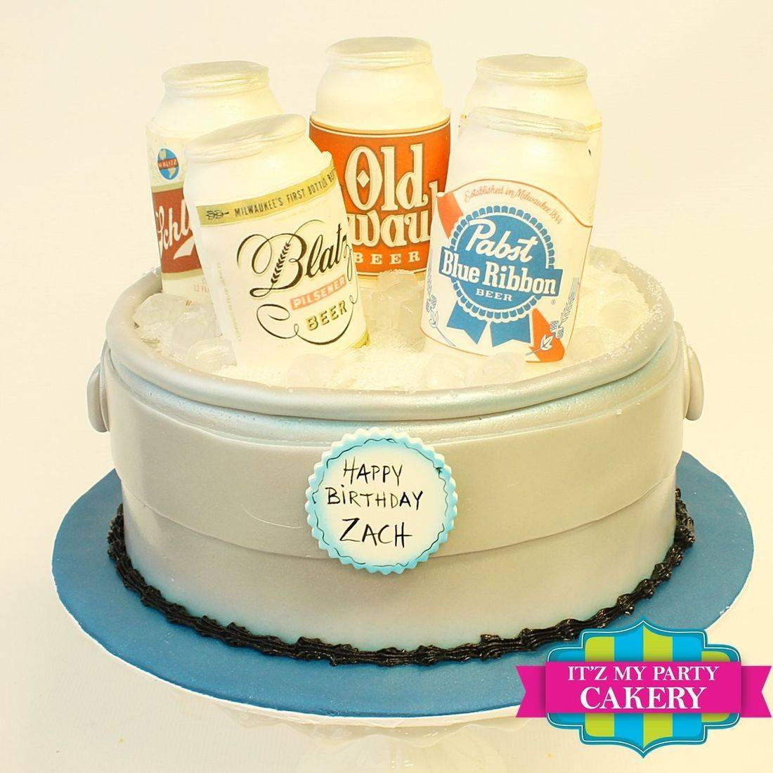 Beer Pail Cake Carved Dimensional Cake Milwaukee