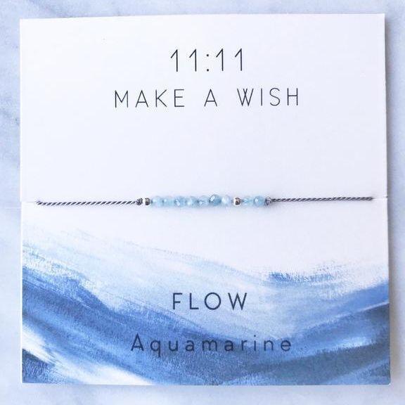 Eleven Love, 11:11 bracelet, wish bracelet, make a wish bracelet, flow bracelet, exhalo barrhaven