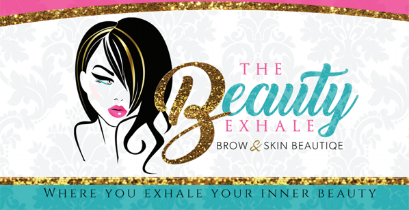 The Beauty Exhale logo