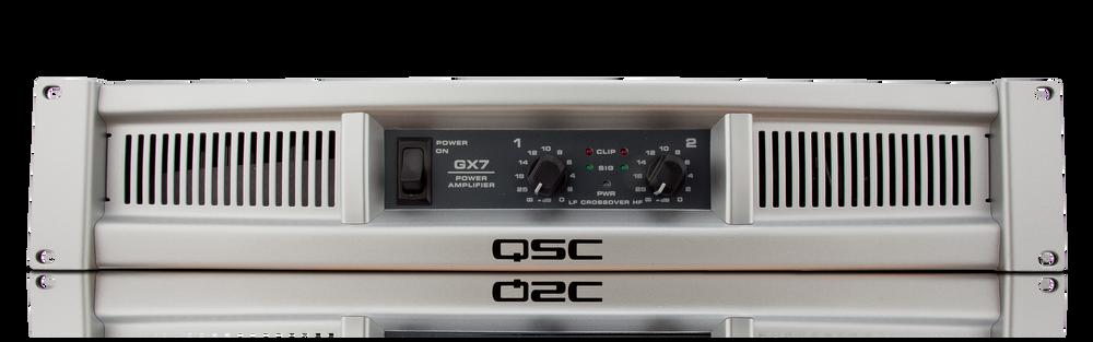 QSC Powerlight 2-PL 236-3600 watt power amplifier for rent