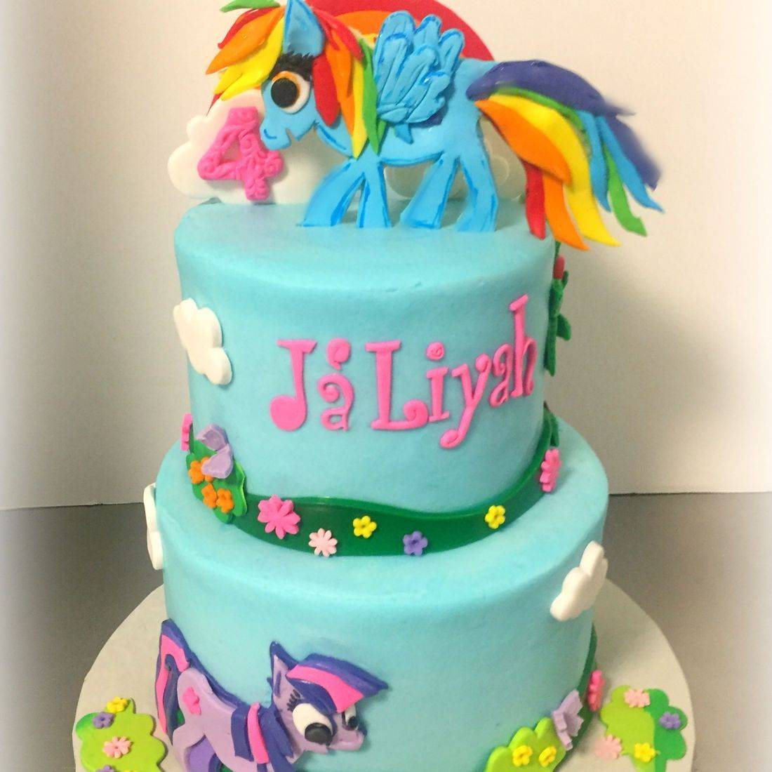,y little pony cake rainbow dash cake girls birthday cake