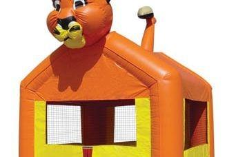 Lion Bounce Castle